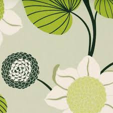 White Curtains With Green Leaves by Delilah Curtain Fabric Kiwi Free Uk Delivery Terrys Fabrics