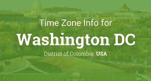 Time Zone Map Us by Daylight Saving Time Dates For Usa U2013 Washington Dc Between 2016