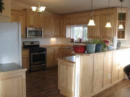 maple kitchen cabinets with granite countertops contemporary dark