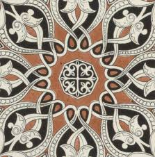 vintage arabian textile pattern design drawing by owen jones