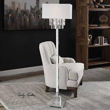 crystal chandelier floor lamp ebay