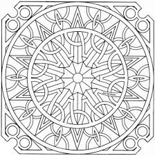 celtic mandala coloring free printable coloring pages