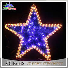 china outdoor decorative wire decoration led christmas star string