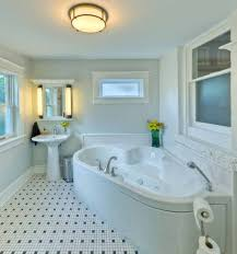 Small Bathroom Remodels On A Budget Ideas For Using Wainscoting Subway Tile In A Bathroom