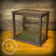 table top display cabinet antique glass wood display case showcase table top case show store