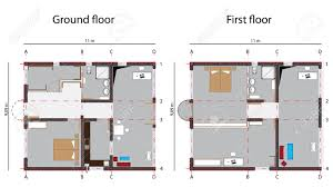 ground floor plan stock photos royalty free ground floor plan