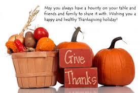 happy thanksgiving my team my health