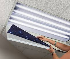 Cover Fluorescent Ceiling Lights Astronomy Fluorescent Light Covers Octo Lights Light Covers