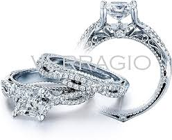 verragio wedding rings verragio twist shank engagement ring afn 5003