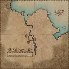 Bal Foyen Treasure Map Morrowind The Imperial Library