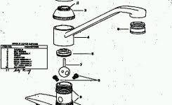 One Handle Kitchen Faucet Repair Repairing Delta Single Lever Kitchen Faucet Best Kitchen Ideas 2017