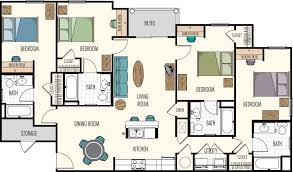 28 four bedroom floor plan gallery for gt floor plans for 4 four bedroom floor plan floor plans hasbrouck managementhasbrouck management