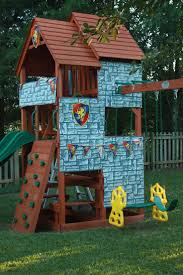 garden design garden design with castle playhouse on pinterest