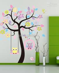 Tree Wall Decor For Nursery Wall Designs Nursery Wall Wall For Baby Room Black