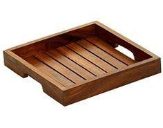 wooden serving tray indian rosewood sheesham handmade black walnut serving tray by kate duncan 1stdibs plateaux