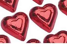 heart chocolate mini hearts milk chocolate 1 lb chocolate