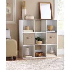 Narrow Cube Bookcase by Furniture Home 5amaz 9 Cube Bookshelf Modern Elegant New 2017