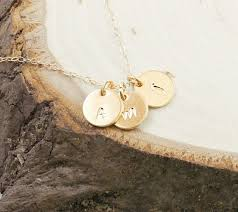 charm necklace letter images 14k gold initial necklace three letter charm necklace personali jpg