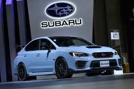 subaru sti subaru u0027s new sti s208 can only be purchased via lottery roadshow