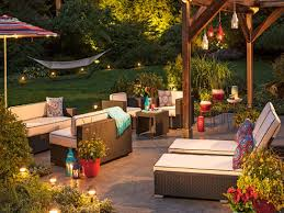 Outdoor Deck String Lighting by Outdoor Patio String Lights Ideas