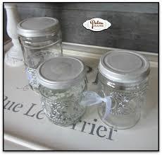 Bathroom Jars With Lids Bathroom Organization Using Repurposed Items Hometalk