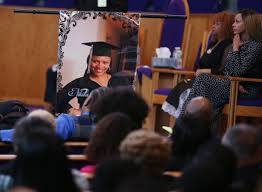 buy cap and gown slain stockton student buried in graduation cap and gown news
