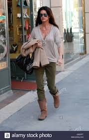 janice dickinson on her way to nail salon in beverly hills los