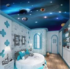 pittura soffitto 3d stereo 3d wallpapers soffitto murales spazio colorato pianeta