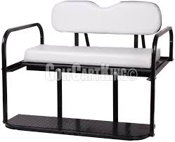 white ezgo marathon pre 1994 golf cart u0027classic u0027 rear flip back