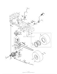 mtd 13ac76lf031 lt3800 2011 parts diagram for transmission