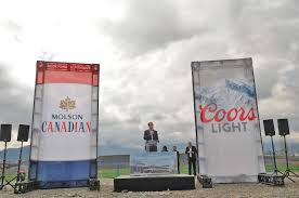 Coors Light Flag Chilliwack Welcomes New Molson Coors Brewery At Official