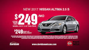 nissan altima 2016 warranty make the move sales event nissan altimas from only 249 mo youtube