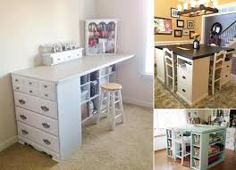 bureau scrapbooking craft desk ideas brilliant 10 cool diy table for your room in 7