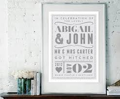 personalised wedding gifts best bespoke items to add to your gift list confetti co uk