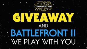 free giveaways wars battlefront 2 event