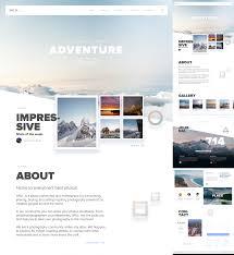 wild free adventure website template for sketch freebiesui