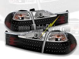 e38 euro tail lights matrix racing euro altezza tail lights clear projector headlights