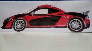 mclaren p1 drawing easy mclaren p1 rahim wadhwani draw to drive