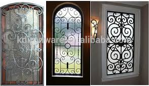 decorative wrought iron door window grates view wrought iron