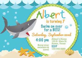 shark birthday invitations u2013 frenchkitten net