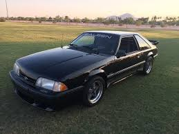 Black Fox Body Mustang 1988 Ford Mustang Saleen 484 Fox Body For Sale Photos Technical