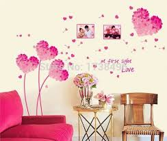 Pink Wall Decor by Heart Wall Decoration How To Diy Creative Paper Hearts Wall Decor