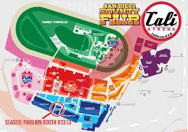 Map San Diego San Diego County Fair Del Mar Fairgrounds Map 2017 Cali Strong