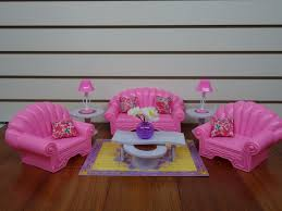 gloria barbie doll house furniture 22004 my fancy life living