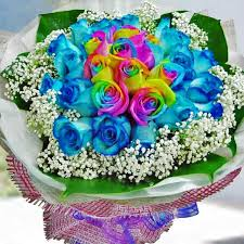 Black Roses For Sale Blue Roses For Sale Singapore Blue Roses Hand Bouquet Delivery