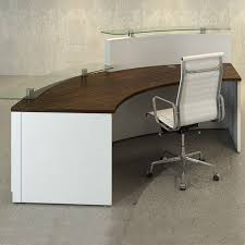 Custom Made Office Furniture by Best 25 Curved Reception Desk Ideas On Pinterest Curved Desk