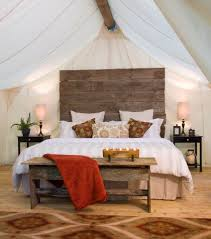 Wall Tent Platform Design by Happy Glampers Luxury Camping Spots In The Northwest Parentmap