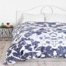 Brocade Duvet Cover Imperial Damask Platinum Grey Duvet Cover