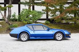 renault alpine renault alpine a310 v6gt artistic cars at the world heritage