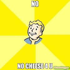 Why U Meme - no no cheese 4 u meme fallout 3 14533 memeshappen